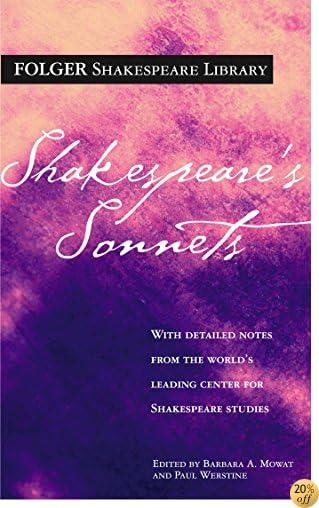 TShakespeare's Sonnets (Folger Shakespeare Library)