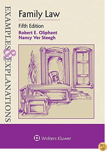 TExamples & Explanations for Family Law (Examples & Explanations Series)