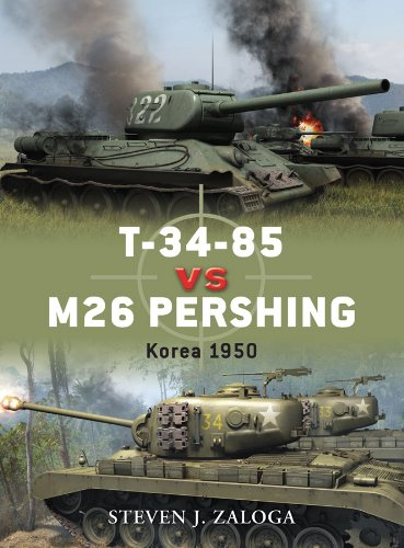 t-34-85-vs-m26-pershing-korea-1950-duel