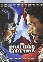 Marvel's Captain America: Civil War (DVD) by…