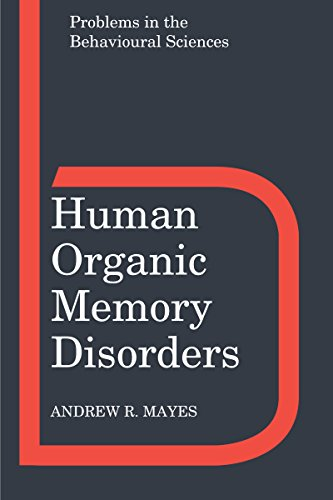 human-organic-memory-disorders-problems-in-the-behavioural-sciences