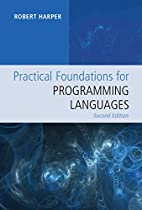 Practical Foundations for Programming…