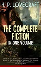 H. P. LOVECRAFT - The Complete Fiction in…