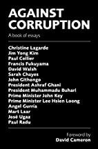 Against Corruption: A book of essays by…