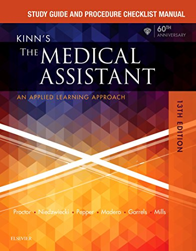 study-guide-and-procedure-checklist-manual-for-kinns-the-medical-assistant-e-book-an-applied-learning-approach