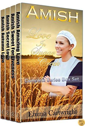 TAMISH ROMANCE: Love in Sugar Creek Boxed Set: Clean Amish Romance Four Book Box Set
