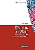 D'Asimov à Tolkien: Cycles et…