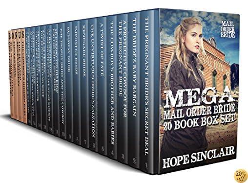 TMail Order Bride: Mega Mail Order Bride 20 Book Box Set (Historical Western Romance)