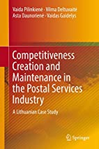 Competitiveness Creation and Maintenance in…