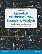 Essential Mathematics for Economic Analysis…