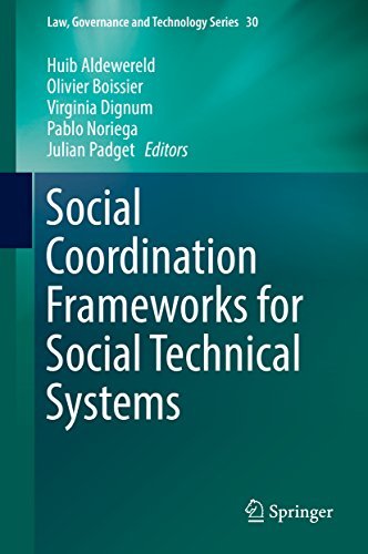 social-coordination-frameworks-for-social-technical-systems-law-governance-and-technology-series