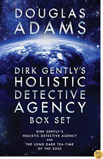 TDirk Gently's Holistic Detective Agency Box Set: Dirk Gently's Holistic Detective Agency and The Long Dark Tea-Time of the Soul