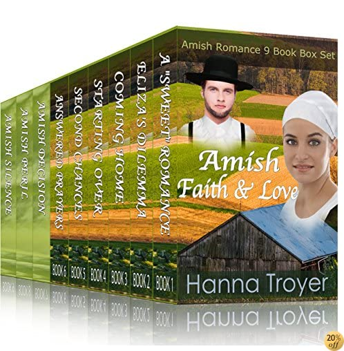 TAMISH FAITH & LOVE: Amish Romance 9 Book Box Set: Sweet, Clean and Inspirational