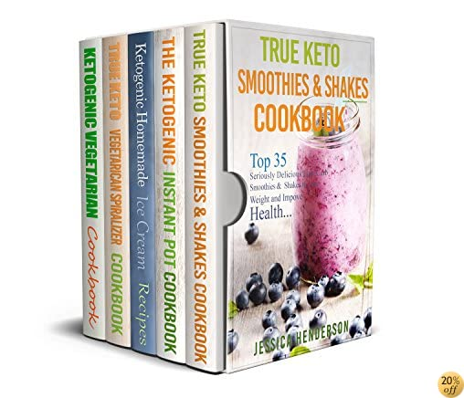Best of Ketogenic Diet Cookbook Box Set: Instant Pot Pressure Recipes, Vegetarians Spiralizer, Vegetarian, Homemade Ice Cream Recipes, Smoothies & Shakes