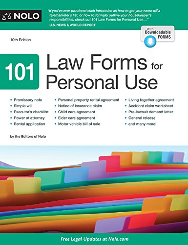 101-law-forms-for-personal-use