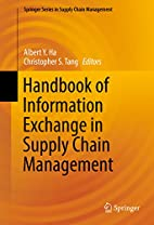 Handbook of Information Exchange in Supply…