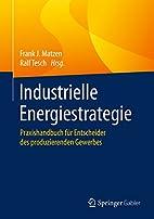 Industrielle Energiestrategie:…