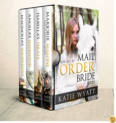 TMail Order Bride: Box Set #5: Inspirational Pioneer Romance (Historical Tales of Western Brides Box Set Series)