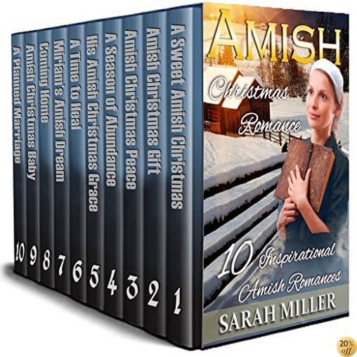 Amish Christmas Boxset - A Celebration of Faith: 10 Inspirational Amish Romances