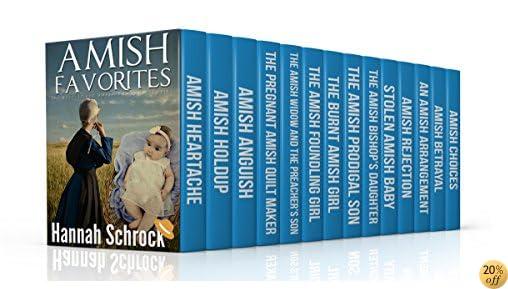 TAmish Favorites (Amish Romance) (14 Book Box-Set)