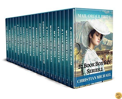 TMail Order Bride: 20 Book Box Set (Brides Head West )