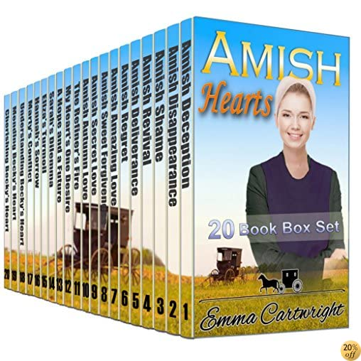 Amish Heart's Boxset: Bumper Amish Romance 20 Book Box Set