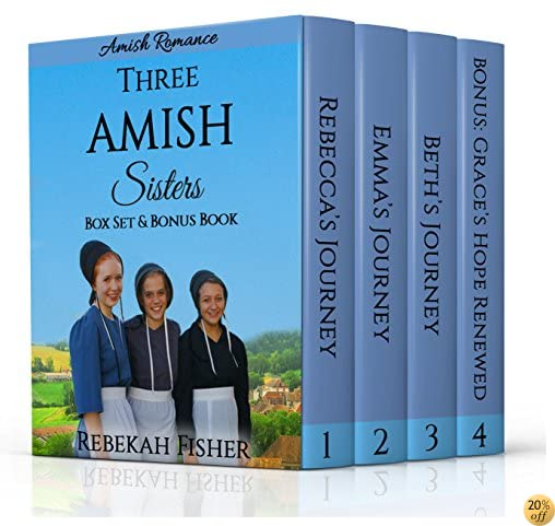 TAMISH ROMANCE: Three Amish Sisters Box Set: PLUS NEW BONUS BOOK - Grace's Hope Renewed!
