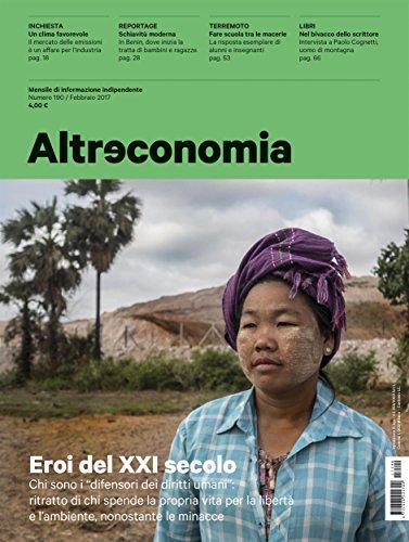 altreconomia-190-febbraio-2017-eroi-del-xxi-secolo-italian-edition