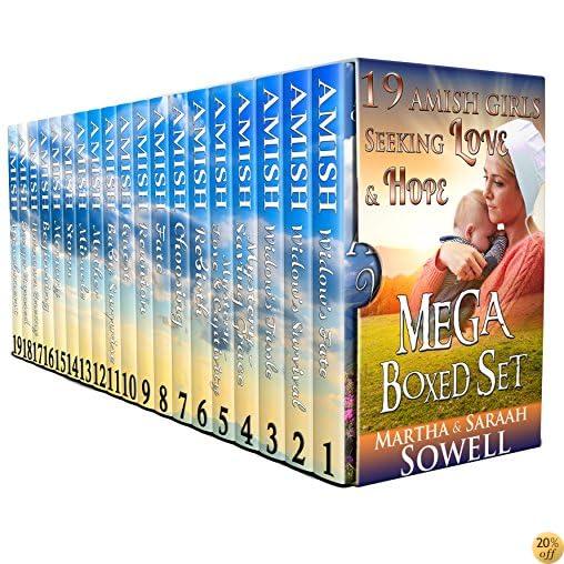 T19 Amish Girls Seeking Love & Hope (Mega Boxed Set)