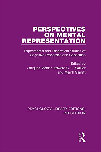perspectives-on-mental-representation-experimental-and-theoretical-studies-of-cognitive-processes-and-capacities-volume-20-psychology-library-editions-perception