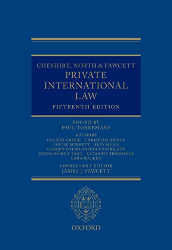 cheshire-north-fawcett-private-international-law