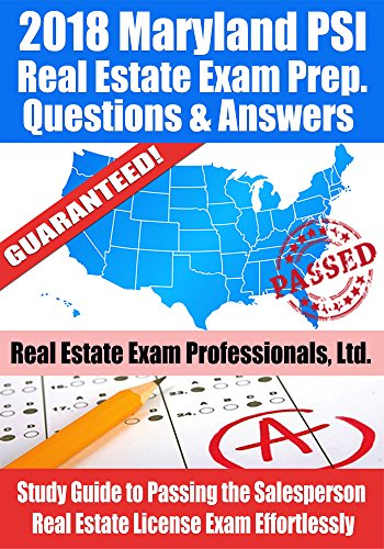 2018-maryland-psi-real-estate-exam-prep-questions-and-answers-study-guide-to-passing-the-salesperson-real-estate-license-exam-effortlessly