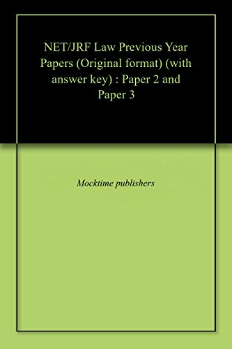 net-jrf-law-previous-year-papers-original-format-with-answer-key-paper-2-and-paper-3