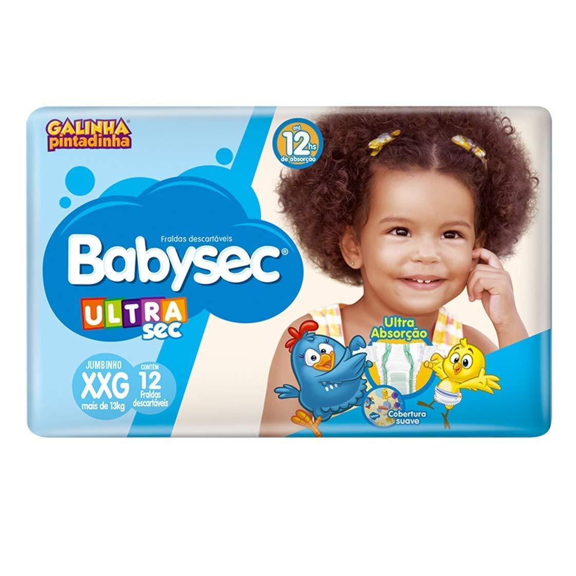 Fralda BabySec XXG