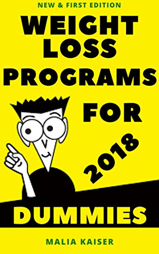 weight-loss-programs-for-dummies-2018-new-first-edition
