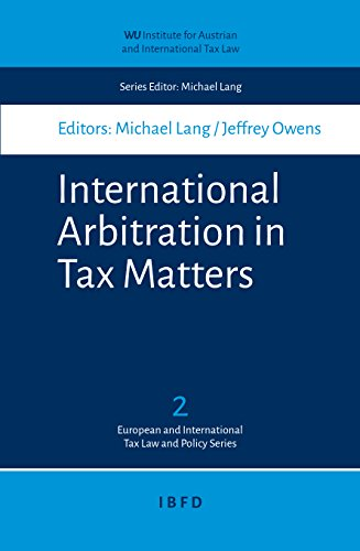 international-arbitration-in-tax-matters-wu-tax-law-and-policy-series-book-2
