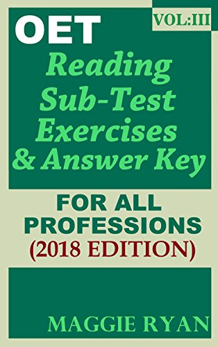 oet-2018-reading-book-for-all-professions-vol-3-oet-reading-books-by-maggie-ryan