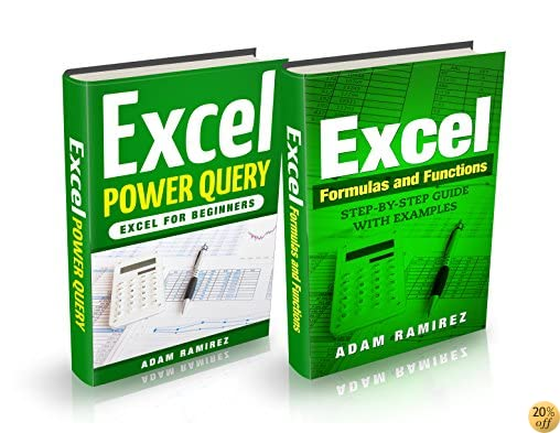 Excel Bundle: Excel Formulas and Functions,Step-By-Step Guide with Examples and Excel Power Query,Excel for Beginners