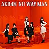 54th Single NO WAY MAN(TypeA/Amazon.co.jp限定/初回限定盤/オリジナル生写真/応募抽選ハガキ付)