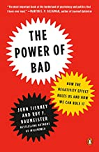 The Power of Bad: How the Negativity Effect…