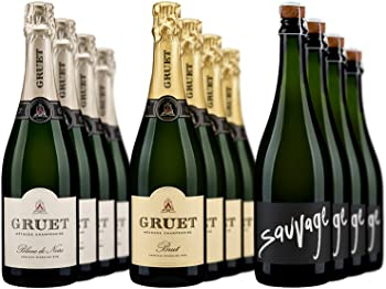 12-Pack Gruet Sparkling Mixed Case Wine