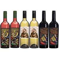 6-Pack Bonny Doon Vineyard Red, White, & Pink Mixed Wine