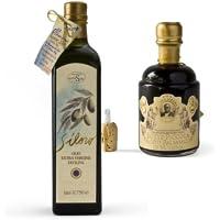 Cavedoni Botte Picola Balsamic & Olivestri Siloro Olio Nuevo Combo Pack