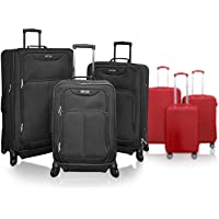 Kemyer 3-Pc Spinner Luggage Set (Multi Colors)