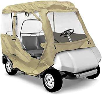 Pyle Golf Cart Protective Storage Enclosure Cover