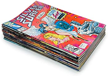 25 Random Comic Book Bundle & Bonus 10 Collector Card Packs