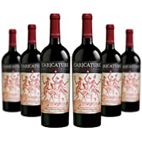 6-Pack Caricature Red Wine Blend