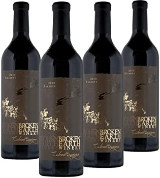 4-Pack Broken Earth Reserve 750ml Cabernet Sauvignon Wine