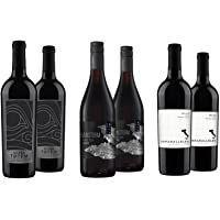 6-Pack VinMotion 750ml Mixed Reds Wine