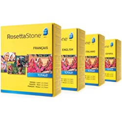 Rosetta Stone Levels 1-4 -Multiple Language